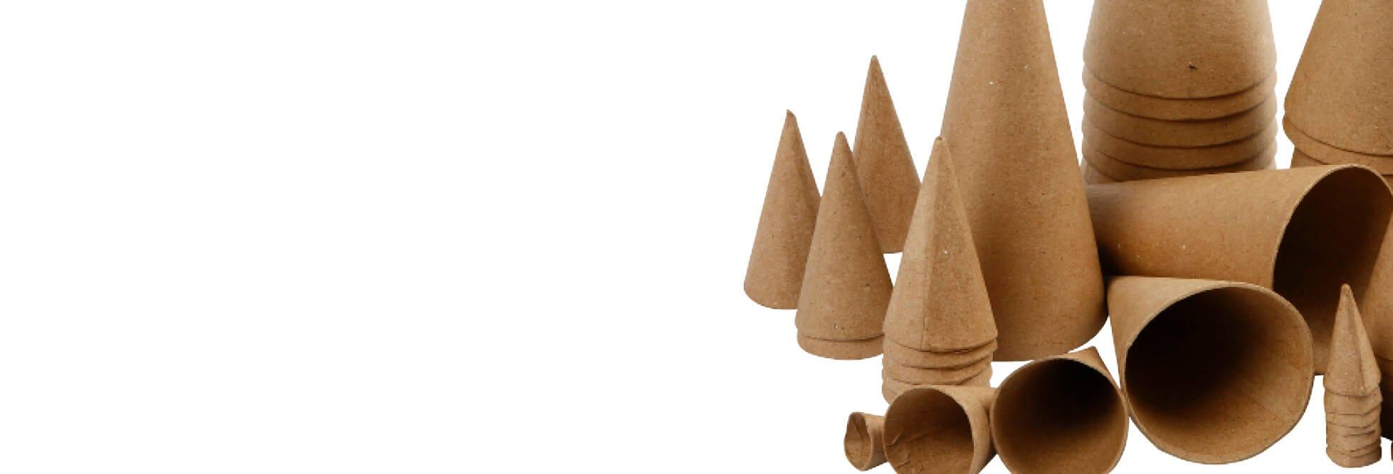 Decoratieve kerstkegels