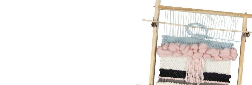 Weven, tapijten maken en pompons