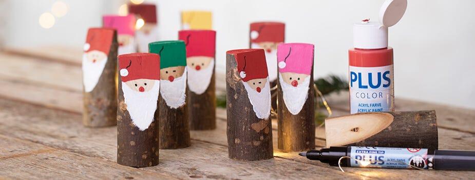 Zelfgemaakte kerstdecoraties