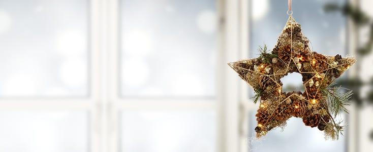 Hangende decoraties voor Kerst