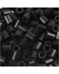 Photo Pearls, dim. 5x5 mm, diamètre intérieur 2,5 mm, noir (1), 6000 pièce/ 1 Pq.