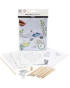 Creative mini kit, Visspel, 1 set