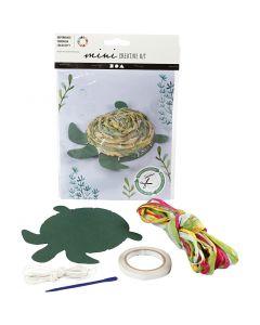 Creative mini kit, Schildpad, 1 set