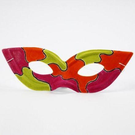 Een geverfd Zorro Masker