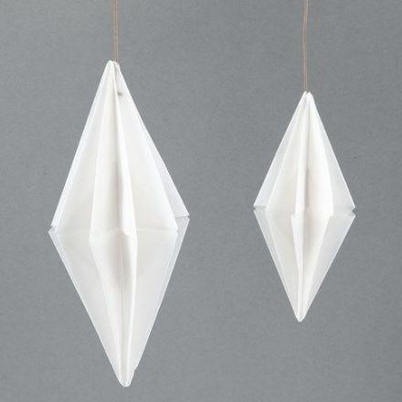 Diamant van papier van Vivi Gade Vellum Origami design papier