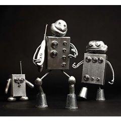 Het universum van de robot