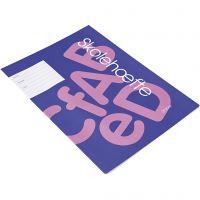 School oefenboek, A4, afm 21x29,7 cm, 64 , 100 stuk/ 1 doos