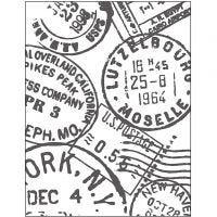 Embossing Folder , stempels, afm 11x14 cm, dikte 2 mm, 1 stuk