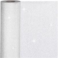 Inpakpapier, B: 50 cm, 80 gr, zilver, 100 m/ 1 rol
