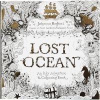 Kleurboek, Lost Ocean, afm 25x25 cm, 80 , 1 stuk