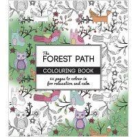Kleurboek, The Forest Path, afm 19,5x23 cm, 64 , 1 stuk