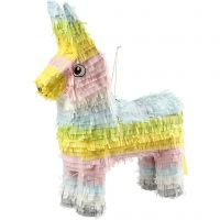 Party Piñata , afm 39x13x55 cm, pastelkleuren, 1 stuk