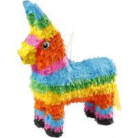 Party Piñata , afm 39x13x55 cm, sterke kleuren, 1 stuk