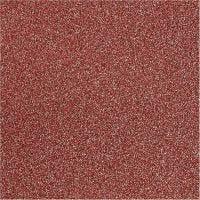 Glitterfolie, B: 35 cm, dikte 110 my, rood, 2 m/ 1 rol