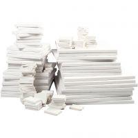 Canvas , diepte 2 cm, wit, 300 stuk/ 1 doos