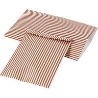 Papieren zakken, H: 21 cm, B: 11,5 cm, 80 gr, 12 stuk/ 1 doos