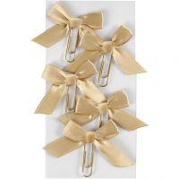 Paperclips, afm 40x70 mm, goud, 5 stuk/ 1 doos