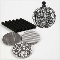 Design ornamenten, d: 8,5 cm, 180 gr, 6 stuk/ 1 doos