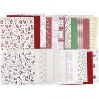 Design papier in blok, 30,5x30,5 cm, 120+128 gr, 24 vel/ 1 doos