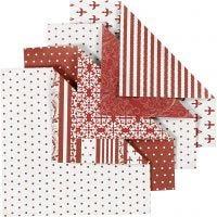 Origamipapier, afm 10x10 cm, 80 gr, 50 div vellen/ 1 doos