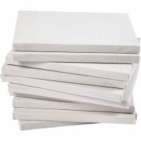 Gespannen canvas, diepte 1,6 cm, A2, afm 42x60 cm, 280 gr, wit, 20 stuk/ 1 doos