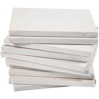 Gespannen canvas, diepte 1,6 cm, afm 18x24 cm, 280 gr, wit, 40 stuk/ 1 doos