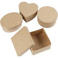 Medium dozen, H: 5 cm, d: 10-12 cm, 4 stuk/ 1 doos