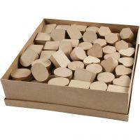 Mini dozen, H: 3 cm, d: 4-6 cm, 144 stuk/ 1 doos