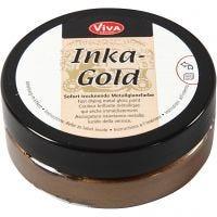 Inka-Gold, brown gold, 50 ml/ 1 Doosje