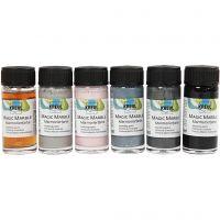 Magic Marble, pastelkleuren, 6x20 ml/ 1 doos