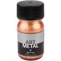 Hobbyverf metallic, koper, 30 ml/ 1 fles