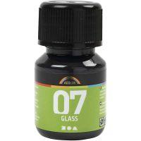 A-Color Glass, zwart, 30 ml/ 1 fles