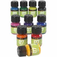 A-Color Glass, diverse kleuren, 10x30 ml/ 1 doos