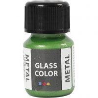 Glass Color Metal, groen, 30 ml/ 1 fles