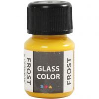 Glass Color Frost, geel, 30 ml/ 1 fles