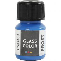 Glass Color Frost, blauw, 30 ml/ 1 fles