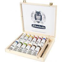 Schmincke AKADEMIE® Acrylverf, 12x60 ml/ 1 doos