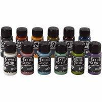 Textile Color, diverse kleuren, 12x50 ml/ 1 doos