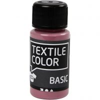 Textile Color, donkerroze, 50 ml/ 1 fles