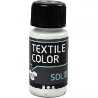 Textile Color, dekkend, wit, 50 ml/ 1 fles