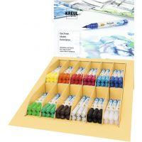 SOLO GOYA Aqua Paint Marker Display, diverse kleuren, 12x6 stuk/ 1 doos