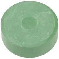 Waterverf, H: 16 mm, d: 44 mm, donkergroen, 6 stuk/ 1 doos