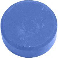 Waterverf, H: 19 mm, d: 57 mm, blauw, 6 stuk/ 1 doos