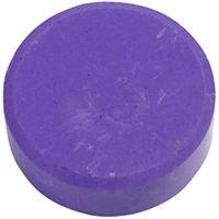 Waterverf, H: 19 mm, d: 57 mm, paars, 6 stuk/ 1 doos
