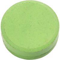 Waterverf, H: 19 mm, d: 57 mm, groen, 6 stuk/ 1 doos