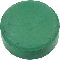 Waterverf, H: 19 mm, d: 57 mm, donkergroen, 6 stuk/ 1 doos