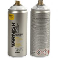 Spray vernis, semi-glanzend, 400 ml/ 1 Doosje