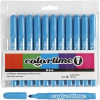 Colortime stift, lijndikte 5 mm, lichtblauw, 12 stuk/ 1 doos