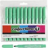 Colortime stift, lijndikte 5 mm, lichtgroen, 12 stuk/ 1 doos