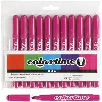Colortime stift, lijndikte 5 mm, roze, 12 stuk/ 1 doos